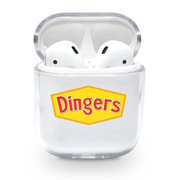 Dingers Logo Airpods Case