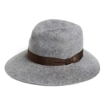 Women's Grace Hats 'Shag' Wide Brim Wool Hat