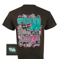 Girlie Girl Originals Cowgirls Its A Cowgirl Thing Country Bright T Shirt