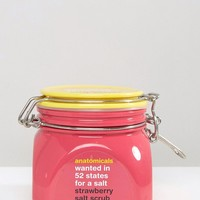 Anatomicals Wanted In 52 States For A Strawberry Salt Scrub 650g at asos.com