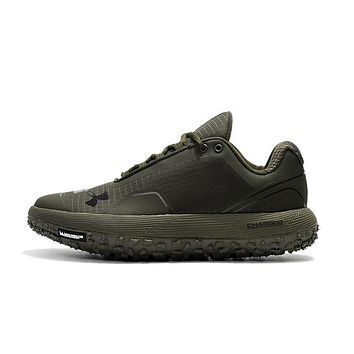 Best Deal Online Under Armour Michelin UA Fat Tire Men Running Shoes Army Green