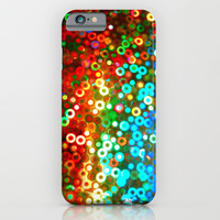 PAILLETTES - for iphone iPhone & iPod Case by Simone Morana Cyla