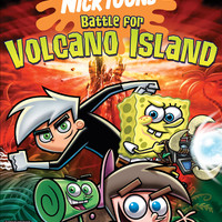 Nicktoons Battle for Volcano Island - Playstation 2 (Game Only)