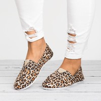 Canvas Shoes - Leopard