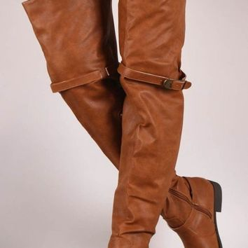 Cross Country Road trip Over The Knee Boots