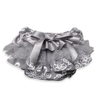 Baby Bella Maya Ruffle Diaper Cover in Royal Mist