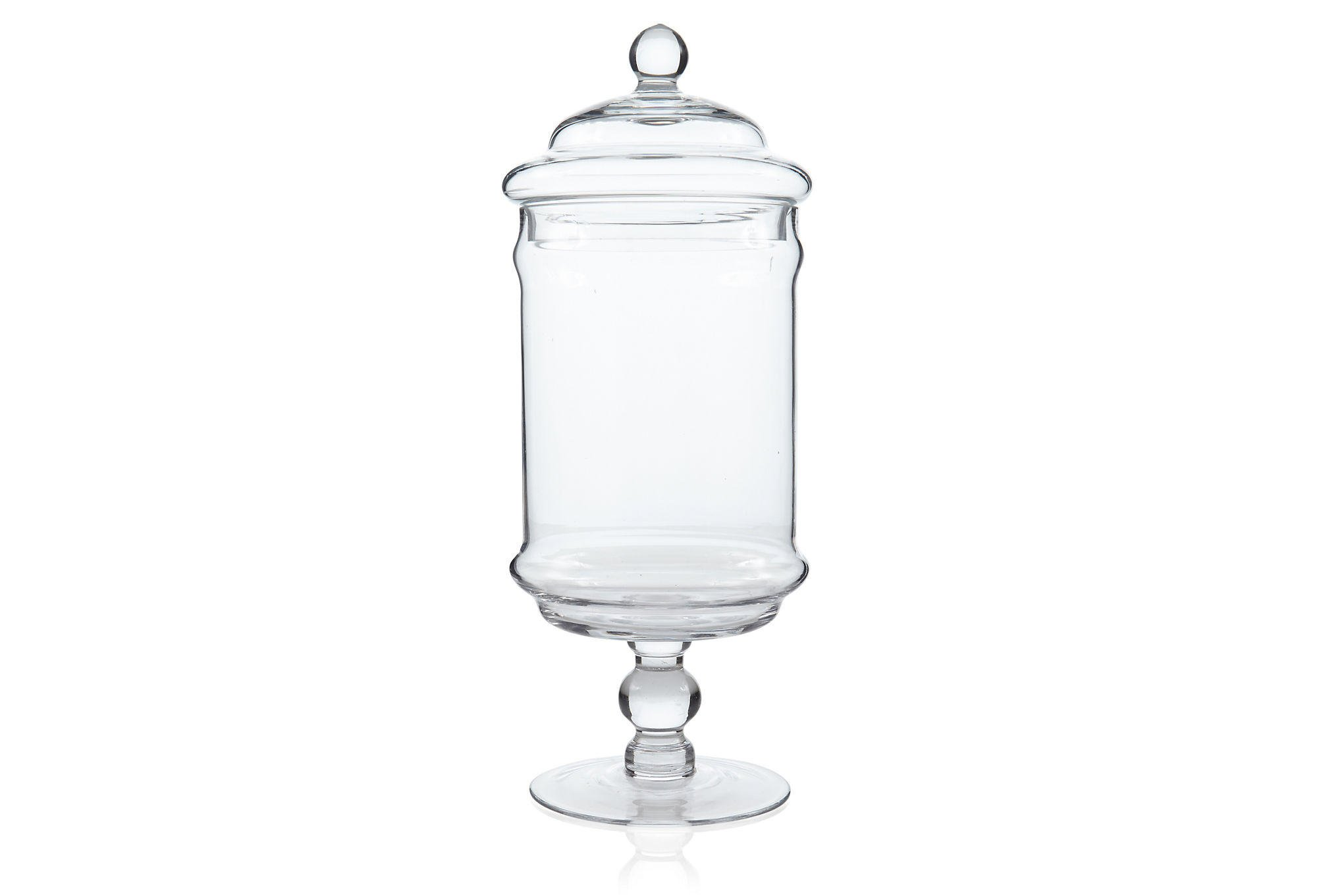 Glass apothecary jar large kitchen from one kings lane for Glass jar kitchen ideas