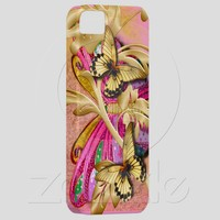 Pink Golden Splendor iPhone 5 Covers from Zazzle.com