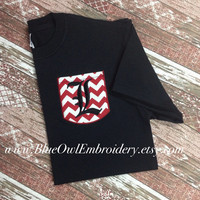 University of Louisville custom pocket tee t-shirt
