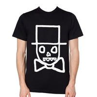 "Unisex ""Face"" Tee by Free Face (Black)"
