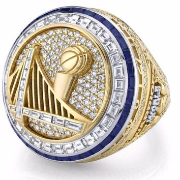 Golden State Warriors Curry Round Basketball sports Replica Championship Ring