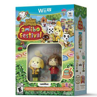 Animal Crossing Amiibo Festival Wii U Game + amiibo