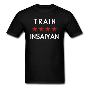 Train Insaiyan T-Shirt | djbalogh