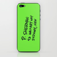 P. Sherman, 42 Wallaby Way iPhone & iPod Skin by Ashleigh