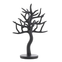 Black Jewelry Tree Stand