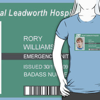Rory Williams Badass Nurse by PopCultFanatics