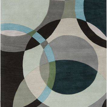 Forum Area Rug Gray, Green