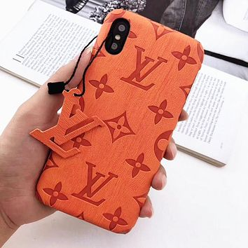Free shipping-LV new personality iPhone 11 mobile phone case cover