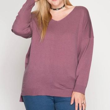 Jamie Soft Sweater | Pastels | Plus