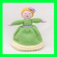 Knitted Topsy Turvy Doll