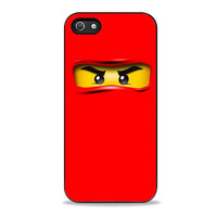 NINJAGO LEGO red Iphone 5s Case