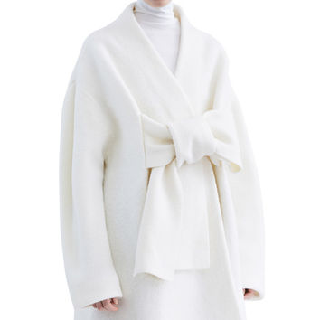 Acne Studios - Hava boiled off white