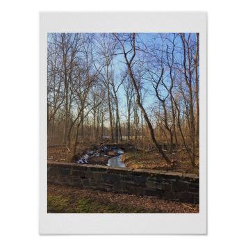 Wintertime Creek Photo Poster
