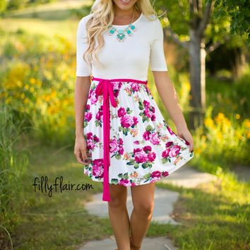 Chasing Sunlight Floral Dress