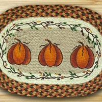 Harvest Pumpkin Placemat
