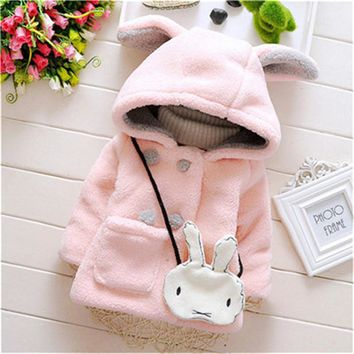 Winter kids jacket Children's Spring autumn coat fashion baby coat girl's outfits baby jacket windbreaker for girls wool coat