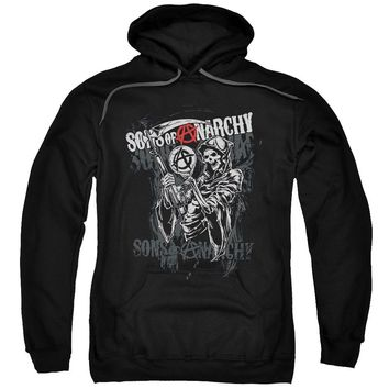 Sons Of Anarchy - Reaper Logo Adult Pull Over Hoodie