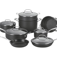 14-Pc Chef's Classic Cookware Set, Cookware Sets