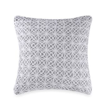 Real Simple® Soleil Square Toss Pillow in Grey