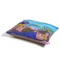 Renie Britenbucher Beached Mermaids Pet Bed