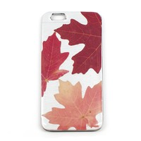 Silver Leaf iPhone 6/6s Case