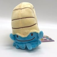 "s Ditto Transform into Omanyte Plush Soft Toy Stuffed Doll 5"" Pikachu Anime CharacterKawaii Pokemon go  AT_89_9"