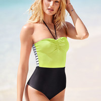 Colorblock Halter One-piece - Victoria's Secret Swim - Victoria's Secret
