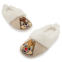 Chip 'n Dale Plush Slippers for Adults | Disney Store