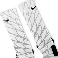 Wings 4 Custom Nike Elite Socks