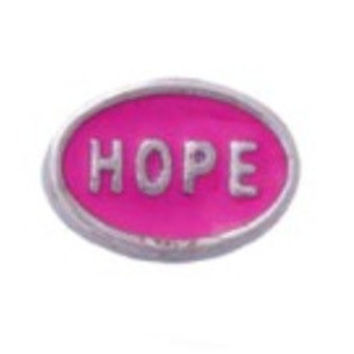 Hope Floating Charm for Memory Lockets
