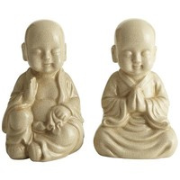Monk Bookend Set