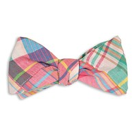 Somerset Patchwork Madras Bow Tie by High Cotton - FINAL SALE