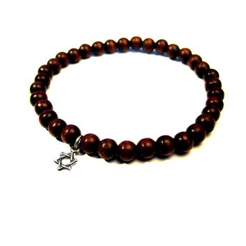 Wood Beads  Jewelry  Bracelet for Men, Mens Gift and Present