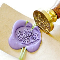 Wax Seal Stamp - Good Luck x 1