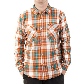 Loser Machine Company - Kestral Orange Adult Long Sleeve Flannel