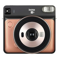 Fujifilm Instax® Blush Gold Square SQ6 Instant Camera