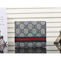 Boys & Men Gucci Leather Print Purse Wallet