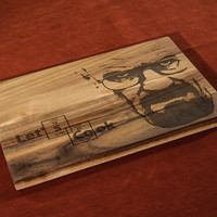Personalized Engraved Cutting Board Grill Let's Cook ~ Birthday Gift, Anniversary Gifts, Housewarming Gift