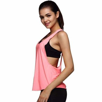 Sexy Drape Open Side Women Tank Top