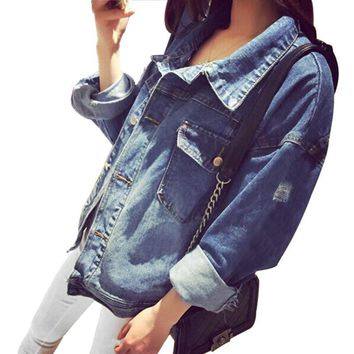 Wayzata Boyfriend Denim Jacket
